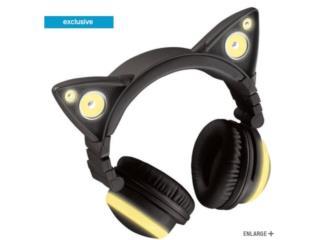 Audifonos / Earphones Bluetooth Cat Ear, Puerto Rico