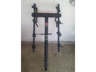 Stand para 3 bicicletas tipo pega!, Puerto Rico