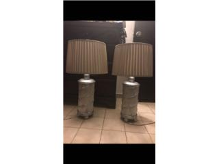 2 Lamparas de mesa , Puerto Rico