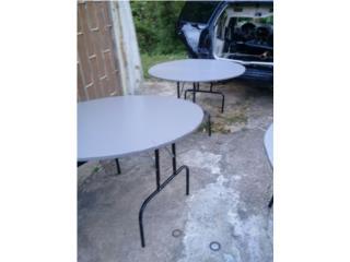 mesas redondas de alquiler, Puerto Rico