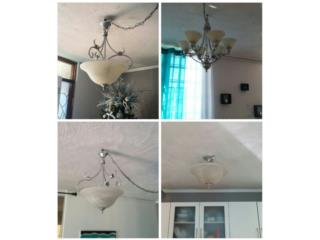 4 lámparas de techo, Puerto Rico