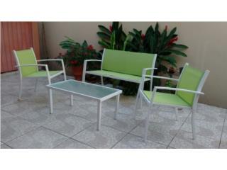 Se de sillas y mesas de patio, Puerto Rico