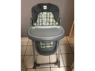 High Chair Silla de Bebe, Puerto Rico