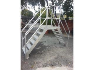 Crossover Ladders aluminum, Puerto Rico