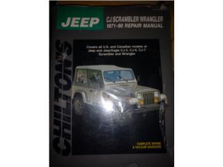 Manuales de Reparación Vehículos , Puerto Rico