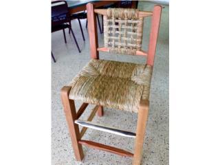 Banqueta tipo stool, Puerto Rico