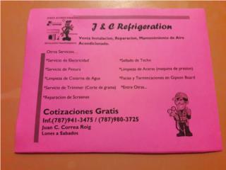 J&C Refrigeration, Puerto Rico