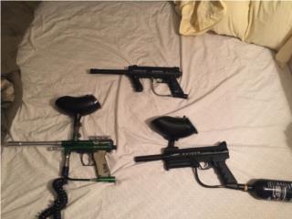 3 Pistolas de Gotcha , Puerto Rico