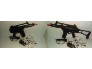 Rifle Airsoft HK, Smart Charger y Gafas, Puerto Rico