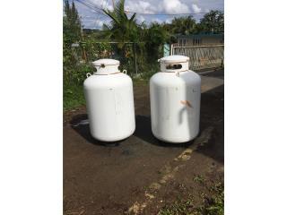 Tanque de gas 500 libras, Puerto Rico