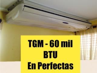 Consola TGM de Aire Acond 5 ton. (60,000), Puerto Rico