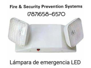 LAMPARAS DE EMERGENCIA LED, Puerto Rico