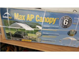 Se vende Canopy 10 x 20 nunca usado.. En caja, Puerto Rico