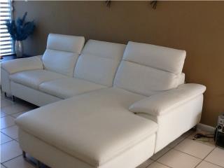 sofa blanco de koper, Puerto Rico