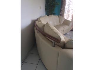 Sofa en piel genuina , Puerto Rico