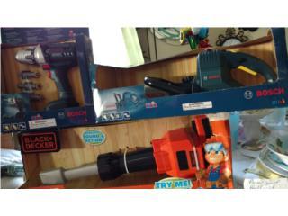 Sierra,Taladro y Chiphammer para niños NUEVOS, Puerto Rico