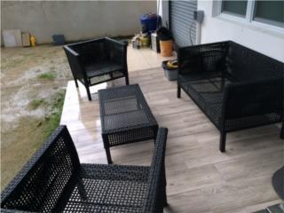 juego de muebles para terraza o patio, Puerto Rico