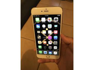 Apple iPhone 6s Plus At&t oro 128 gb, Puerto Rico