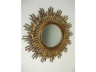 Espejo antiguo Sol, Puerto Rico