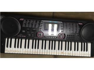 Keyboard Casio CTK-631, Puerto Rico