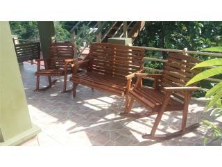 Muebles en pino tratado semi rùsticos, Puerto Rico