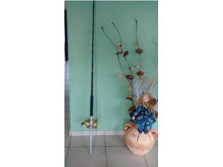 caña de pescar con reel, Puerto Rico