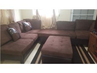 Set muebles en L. Como nuevos, Puerto Rico