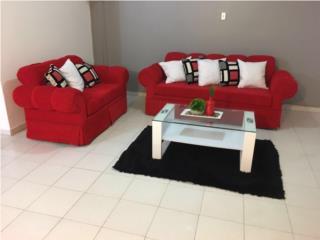 Muebles rojos, Puerto Rico