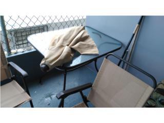 mesa de terrasa 4 sillas , Puerto Rico