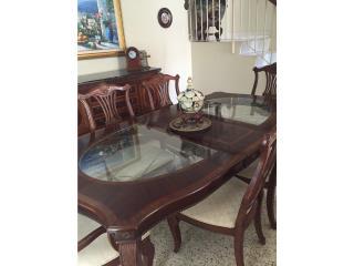 Juego de Comedor de 8 sillas, Puerto Rico