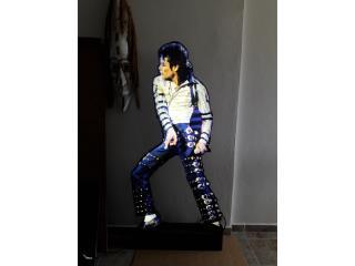 Rótulo Michael Jackson tamaño real, Puerto Rico