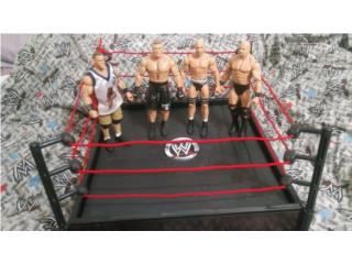 WWE BROCK LESNAR,CENA,CESARO,STONE COLD,RING , Puerto Rico