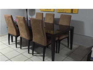 juego de comedor 6 sillas, Puerto Rico