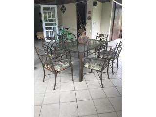 Juego de comedor, Puerto Rico