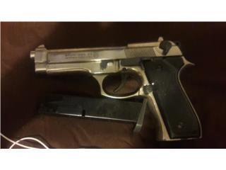 Pistola bala blanca 8mm $150, Puerto Rico