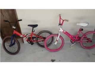Dos bicicletas 20 por 60 aprovecha, Puerto Rico