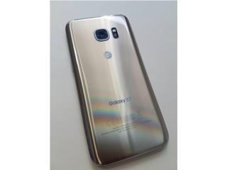 Galaxy S7 ORO de AT&T LIKE NEW!, Puerto Rico