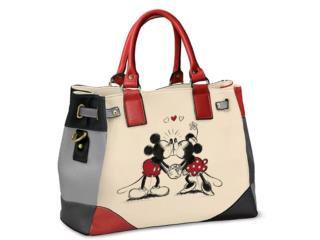 Cartera Disney Mickey Mouse And Minnie Love  , Puerto Rico