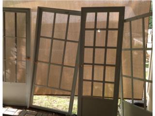 Se venden puertas de screen diferentes tamaño, Puerto Rico