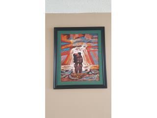 Pintura cuadro, Puerto Rico