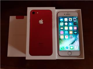 Iphone 7 Red 128GB AT&T, Puerto Rico