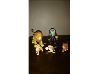 Figuras de acción de Lion King 2, Puerto Rico