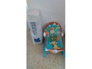Moises para recien nacido y mesedora $45, Puerto Rico