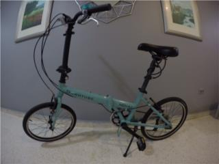 Bicicleta Dahon Downtube plegable Edicion Lim, Puerto Rico
