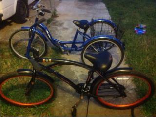 Bicicleta y triciclo como nuevos, Puerto Rico