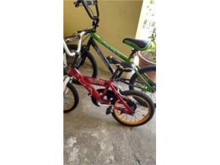 Bicicleta 20 y 16 de niño , Puerto Rico