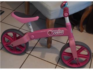 Bicicleta de balance para niña en color rosa, Puerto Rico