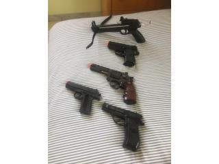 Pistolas Air Soft, Puerto Rico