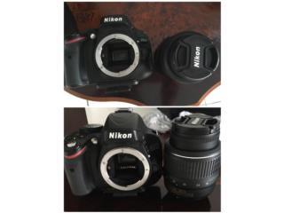 Nikon D5100 32gb, Puerto Rico