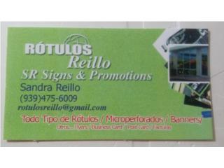 Rotulación y/o Instalaciones / Promociones, Puerto Rico